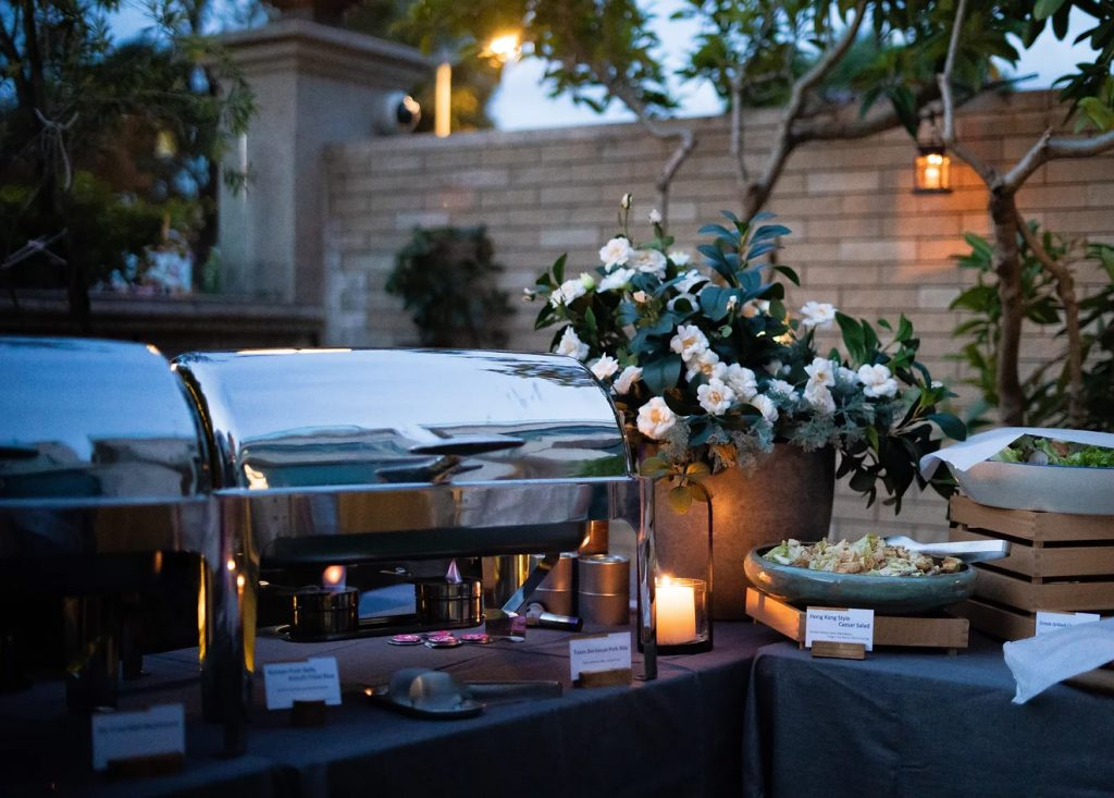catering services: BUFFET SHARING