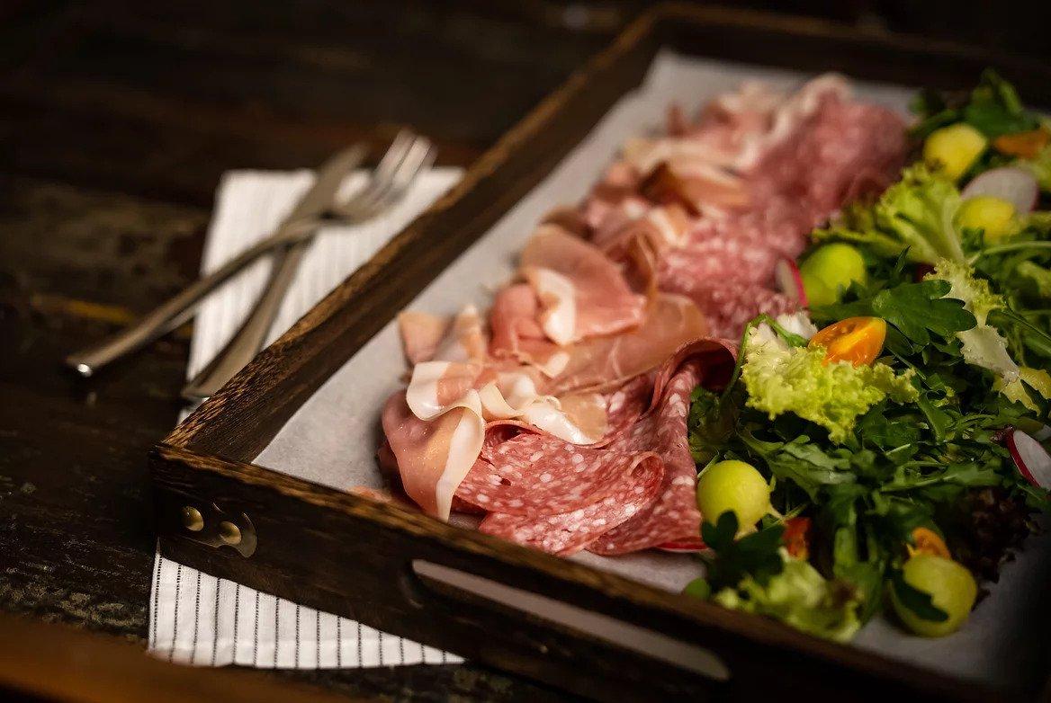 Italian Ham Platter